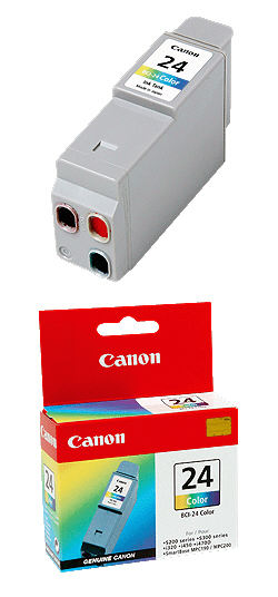 6882A002/ BCI-24C/ BCI-24Color/ BCI24C INK Cartridge Canon Color S200/S300//i320/i450/i470D/ (Canon)