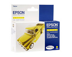 T06344A Cartridge Epson Stylus Color C67/C87//CX3700/CX41(Yellow)(8ml) (Epson)