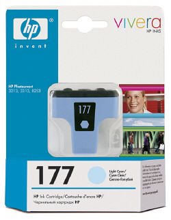 C8774HE Cartridge HP №177 (Light Blue) (5,5 ml) (HP)