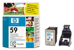 C9359A Cartridge HP №59 (Gray) (17 ml) (HP)