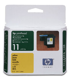 C4813A Printhead HP №11(Yellow) (HP)