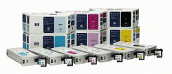 C4994A Value Pack HP 81(Light Cyan Ink Cartridge and Printhead)(680 ml) (HP)