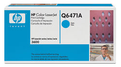 Q6471A Smart Print Cartridge HP Color LJ 3600/3800 (Cyan) (4000 pages) (HP)