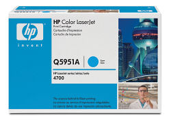 Q5951A Smart Print Cartridge HP Color LJ 4700 (Cyan) (10000 pages) (HP)