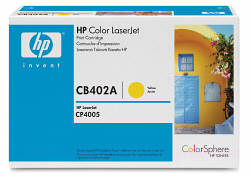 CB402A Принт-картридж для HP Color LJ CP4005 (желтый) (7500  стр.) (HP)