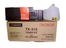 TK-310 TK-310 Toner Cartridge Mita FS2000D/3900DN/4000DN (12000 pages) (Kyocera-Mita)