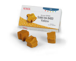 108R00607 Genuine Xerox Solid Ink 8400 Yellow (3400 pages, 3 sticks) (Xerox)