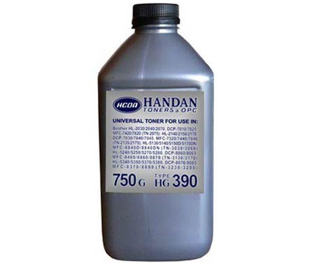 Тонер универсальный HG 390 Brother TN-2040/ 2050/ 2070/ 2820/ 7010/ 7020/ 7025/ 7220/ 7420 (б. 750 г)