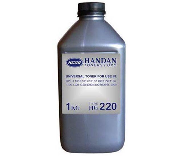 Тонер универсальный Тип 220 HP LJ 5L/ 1100/ 1000/ 1200/ 1010/ 1012/ 1015/ 1320/ 4000/ 4250/ 5000/ 5100/ 8000/ 8150 (бут. 1 кг.)